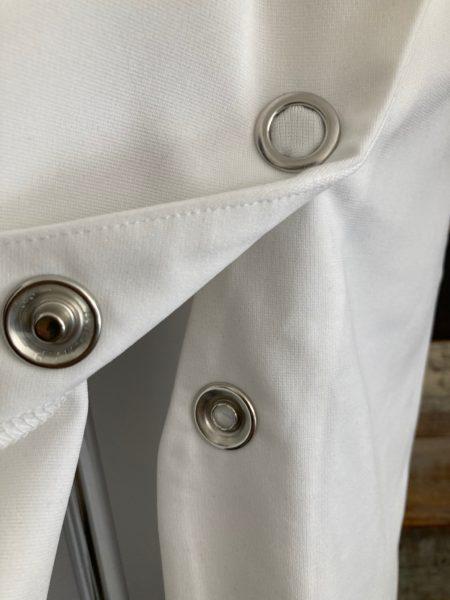 『スナップスリットロングTシャツ』スナップアップ/OSMOSIS(オズモーシス)