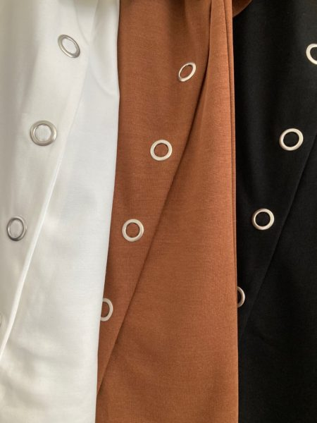 『スナップスリットロングTシャツ』アップ/OSMOSIS(オズモーシス)