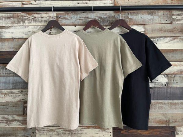 koe(コエ)/抗菌防菌オーガニックコットンクルーネックTシャツ/バックシルエット