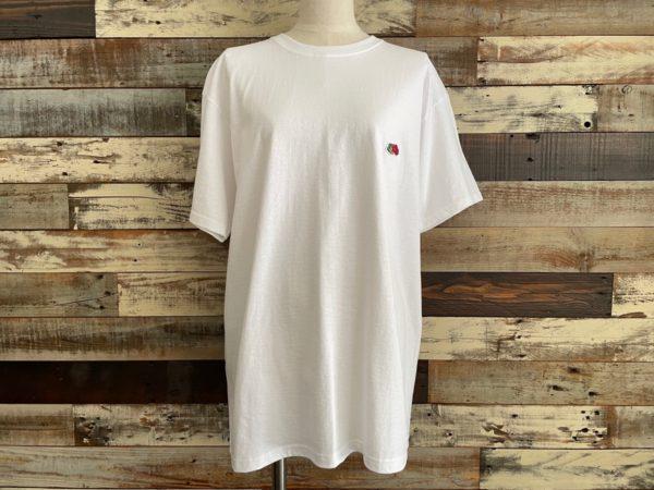 AULA AILA(アウラアイラ)/フルーツオブザルーム×AULA AILAコラボTシャツ/ホワイトフロント