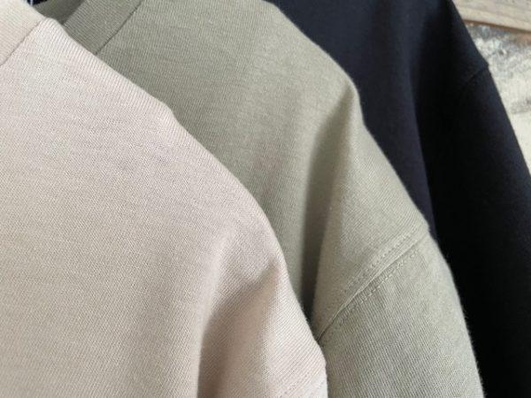 koe(コエ)/抗菌防菌オーガニックコットンクルーネックTシャツ/アップ
