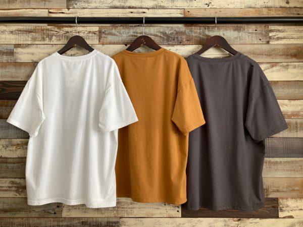 ロゴプリントTシャツ/バック