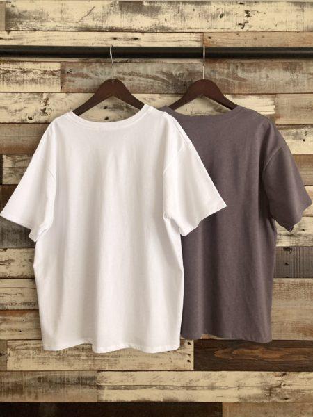 『強燃コットンティックプリントTシャツ』バック