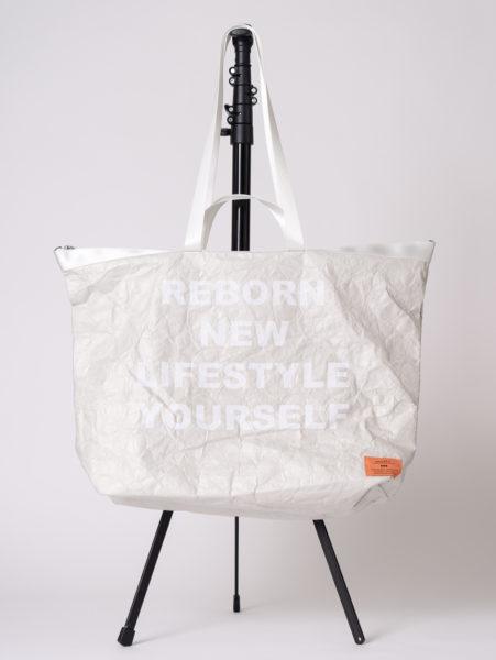 Tyvek tote bag(タイベックトートバッグ)/andLIFE's(アンドライフス)/エクリュ