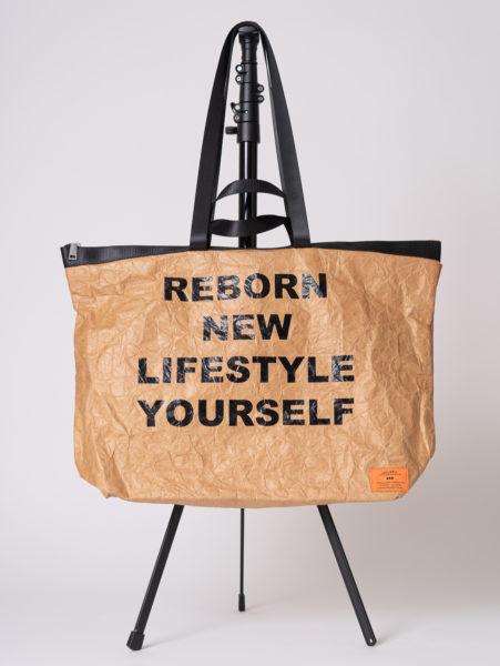 Tyvek tote bag(タイベックトートバッグ)/andLIFE's(アンドライフス)/ベージュ