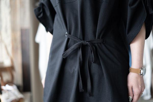 『LOOSE LOGO T-SHIRT』/『ルーズロゴTシャツ』バック/AULA AILA(アウラアイラ)
