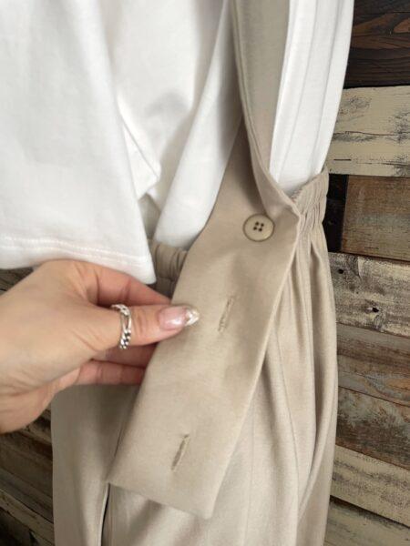 サロペット&TシャツSET/バック/OSMOSIS (オズモーシス)/アップ