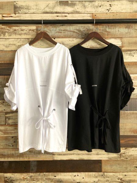 『LOOSE LOGO T-SHIRT』/『ルーズロゴTシャツ』フロント/AULA AILA(アウラアイラ)