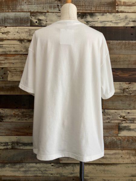 OSMOSIS (オズモーシス)ロゴプリントTシャツ/バック
