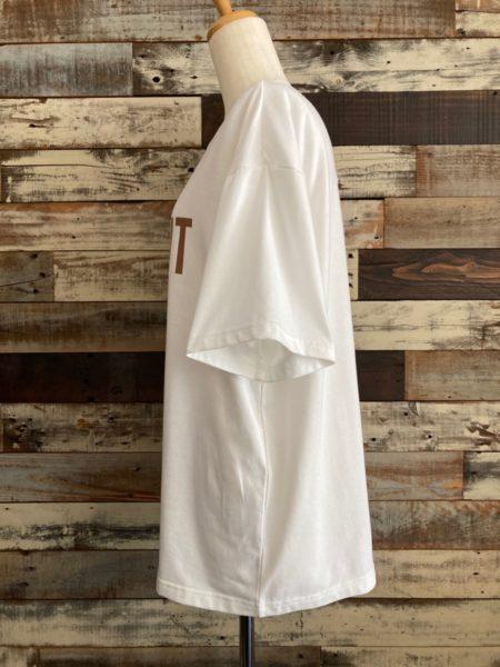 OSMOSIS (オズモーシス)ロゴプリントTシャツ/サイド