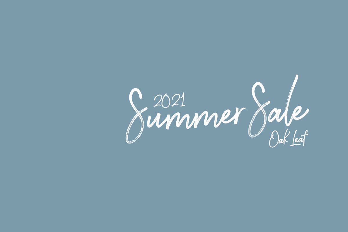 OakLeaf 2021 SUMMER SALE(サマーセール)