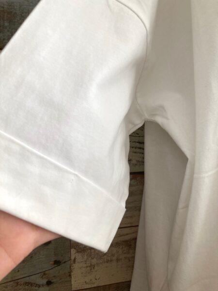 ジップポケットドルマンTシャツ/
