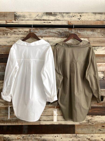 サイドタックシャツ/バック