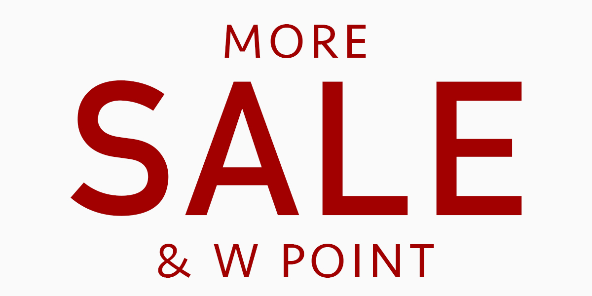 2021 MORE SALE & W POINT